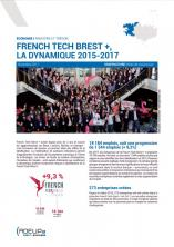 French Tech Brest +, la dynamique 2015-2017