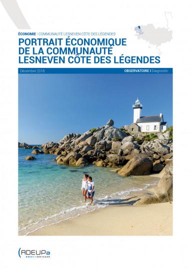 Portrait économique de la communauté Lesneven Côte des légendes