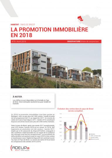 La promotion immobilière en 2018 dans le pays de Brest
