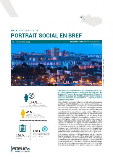 Brest métropole : observatoire social en bref