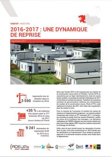 2016-2017 : une dynamique de reprise