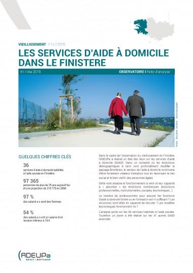 Les services d'aides à domicile dans le Finistère