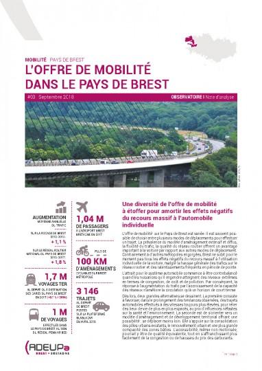 Observatoire de la mobilité N°3