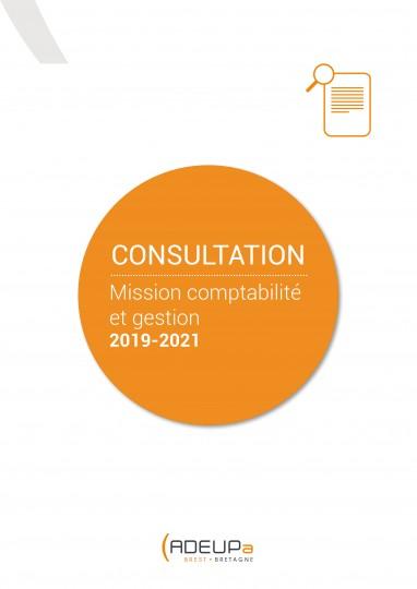 Consultation en vue du renouvellement de la mission comptabilité-gestion