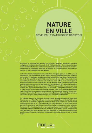 Nature en ville : révéler le patrimoine brestois